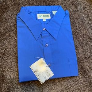 NWT Haband Stain Resistant Long Sleeve Dress Shirt